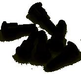 Image of Traxxas 3x12mm Shoulder Screws (6) - TRA3642
